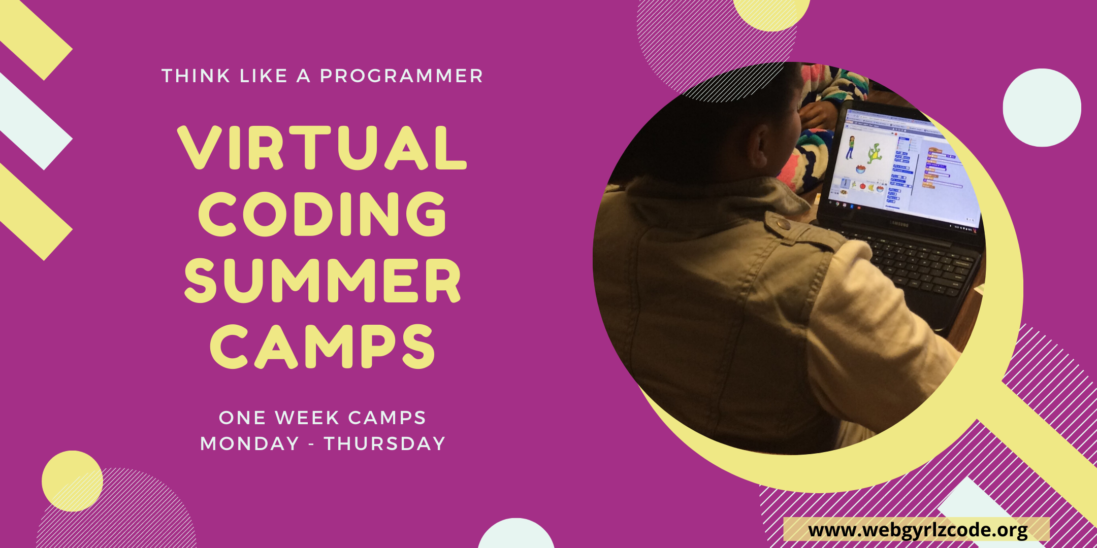 VIRTUAL CODING SUMMER CAMPS